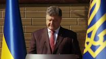 "Ukraine accuses Russia of ""undisguised aggression"""