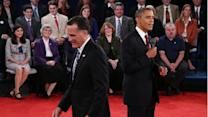 Face to face: Obama, Romney in crackling debate (PHOTOS)