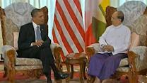 Obama talks Mideast violence with Morsi, Netanyahu