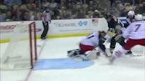 Malkin glides to the net and beats McElhinney