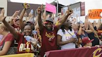 Cleveland Cavaliers Receive Hero's Welcome at Home