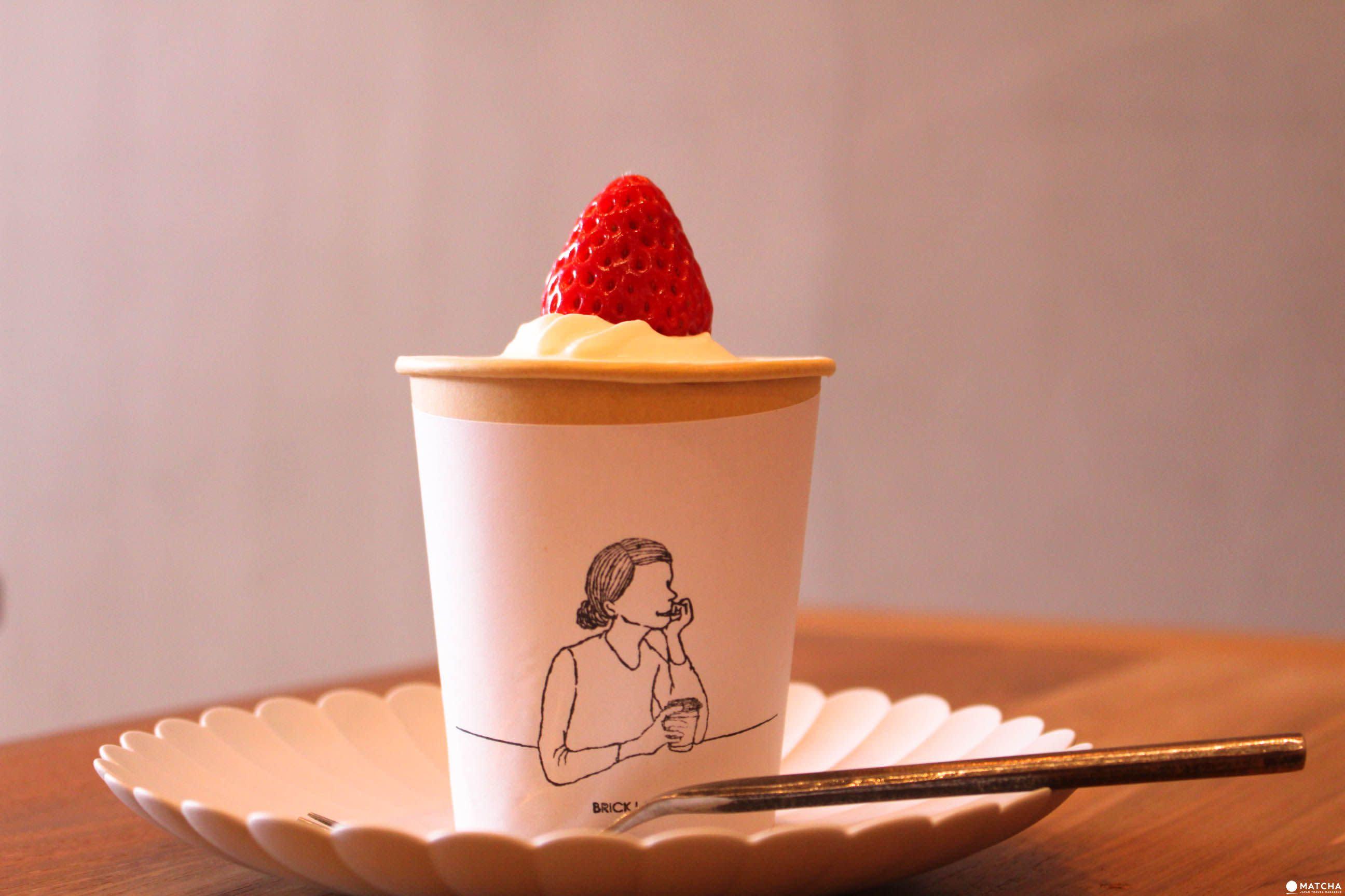 世田谷BRICK LANE 甜點草莓蛋糕