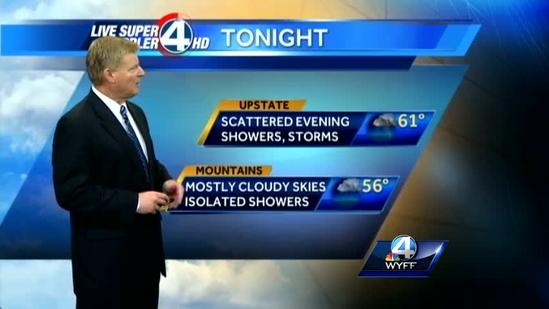John Cessarich's forecast for Wednesday, April 17, 2013