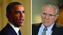 Rumsfeld on Obama's trifecta of scandals, Pt. 2
