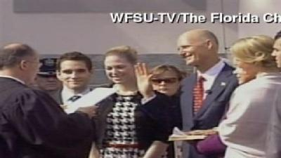 Raw Video: Rick Scott Sworn In As Governor
