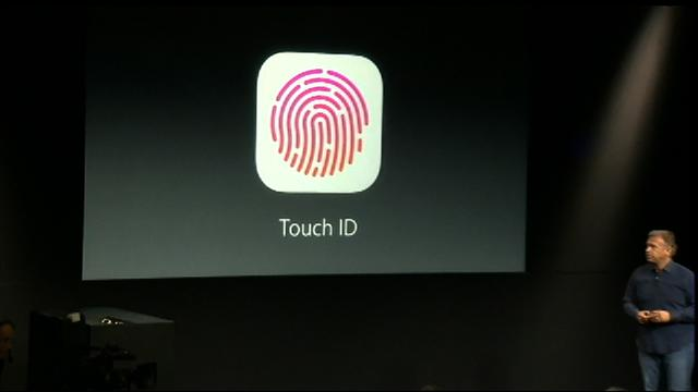 Apple demos Touch ID fingerprint reader for iPhone 5S