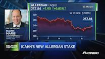 Maris: Icahn's stake shows AGN is on right path