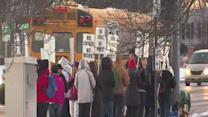 6am: Strongsville picketers begin chanting