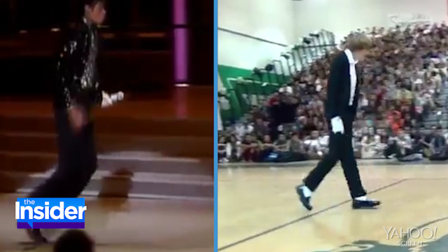 Teen Channels Michael Jackson at Talent Show