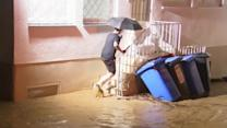 Floods hit western Germany