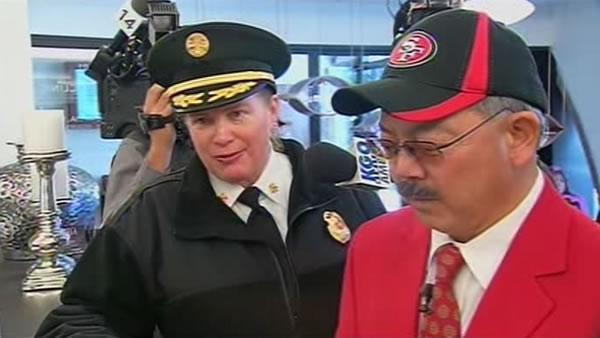 San Francisco officials urge football fans to behave