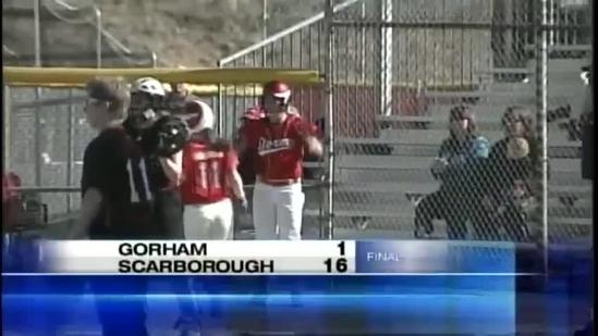 Scarborough softball team beats Gorham