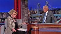 David Letterman - Joan Rivers on Her CNN Interview