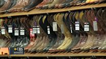 How cowboy boots got bigger and bolder