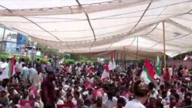 MQM Supporters Hold Third Day of Protest in Karachi