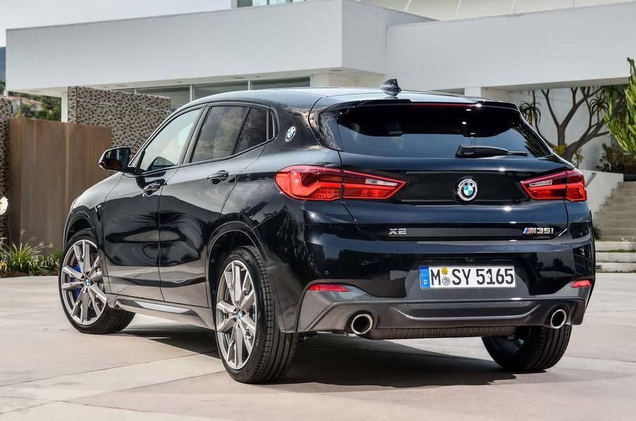 BMW X2 M35i最快明年3月在歐洲上市,台灣的話可能要再等等(圖片來源:https://www.autocar.co.uk/car-news/new-cars/new-bmw-x2-m35i-revealed-first-four-pot-m-cars)