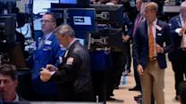 Stocks mostly fall on rate concerns