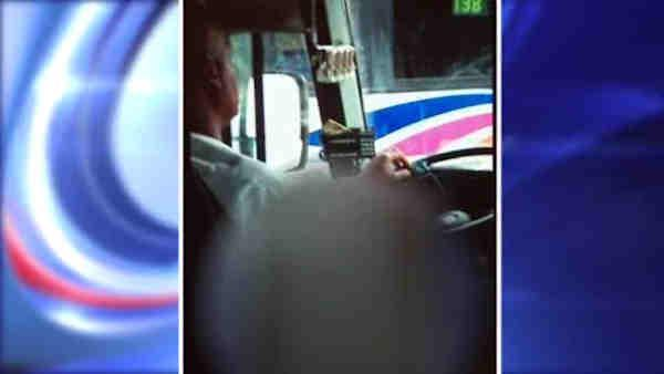 Passenger speaks out about masterbating bus driver
