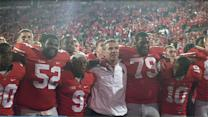 Bucks sing Carmen Ohio after big win