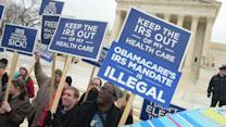 Fiery Battle Over President's Healthcare Law Goes to the Supreme Court