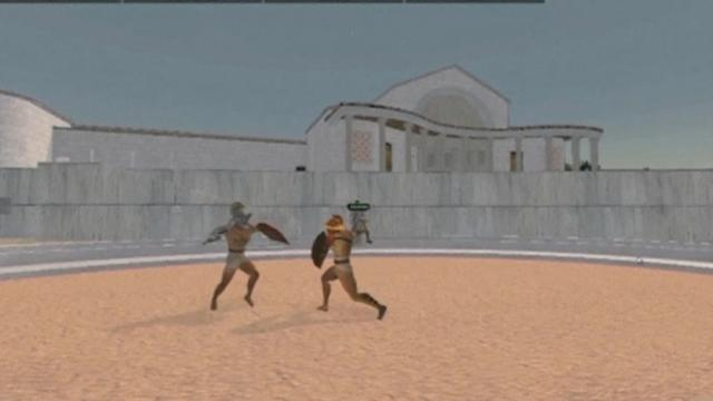 Hadrian's villa brought back to life online