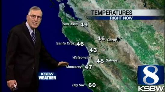 Check out your Sunday morning KSBW Weather Forecast 04 21 13