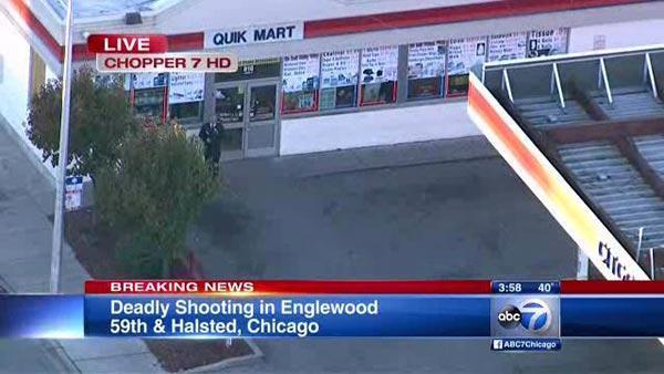 Englewood gas station shooting: 1 dead, 1 wounded near 59th, Halsted