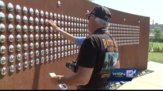 Memorial wall remembers Harley riders who have died