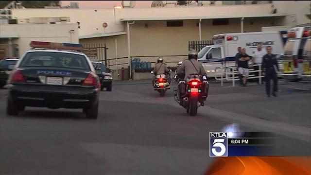 Officers Treated After Shootout With Gunman