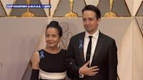 Oscars 2017: Nominees wear blue ribbons in support of ACLU