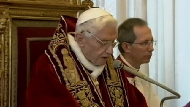 Pope Benedict XVI's Resignation Announcement
