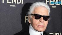 """Karl Lagerfeld Defends Using Fur in Fashion, Questions Critics Who Also Eat Meat: """"A Butcher Shop Is Even Worse"""""""