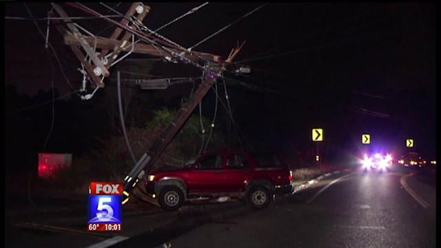 Lakeside Power Outage Blamed On Crash