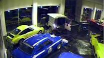 Police Release Footage of Dramatic Ram Raid in Ripley
