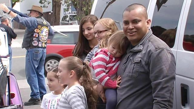 Donated car given to veteran in Belmont