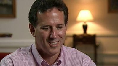 RAW INTERVIEW: News 8 Talks To Santorum About Presidential Run