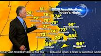 WBZ AccuWeather Morning Forecast For June 18