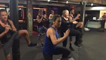 Tone in 20: DIY Workout With Fitness Expert Kristi Molinaro and Ginger Zee