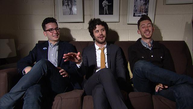 Live On Letterman Interview - Passion Pit