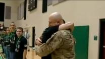 Upstate dad returns home from Afghanistan; surprises sons
