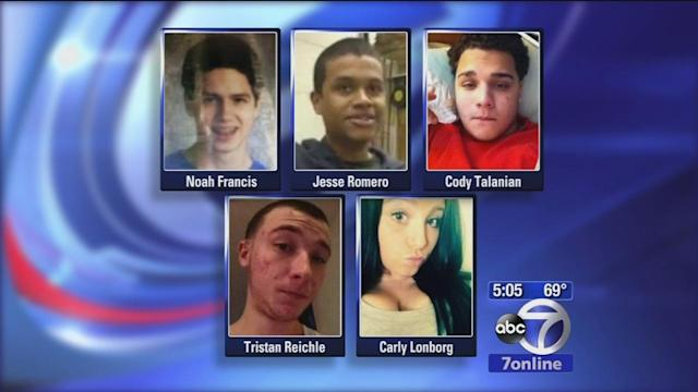 Two Farmingdale teens laid to rest after deadly car crash