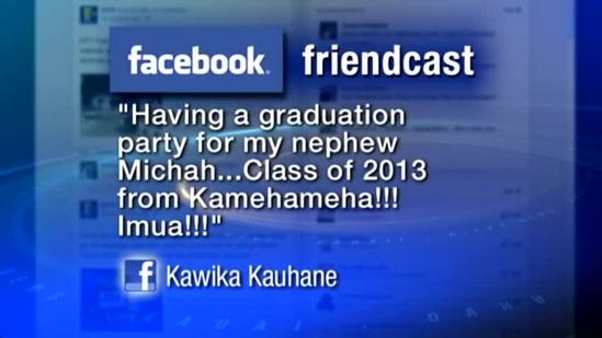 Facebook Friendcast: Kawika Kauhane