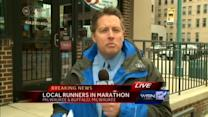 Milwaukee runner safe after marathon explosions