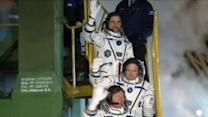 Historic Yearlong Mission Launches to the International Space Station