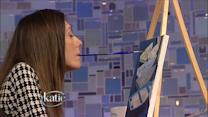 After Accident, Artist Learns to Paint with Her Mouth