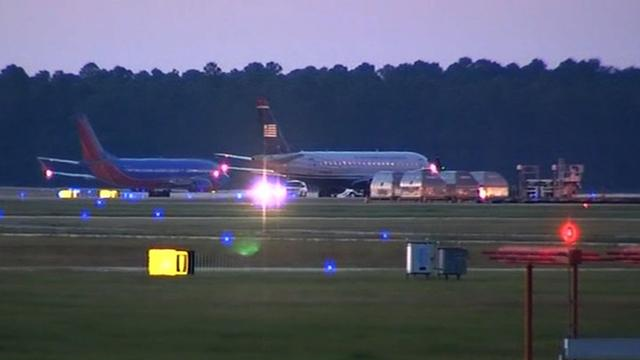 Flights resume at Jacksonville airport after bomb scare