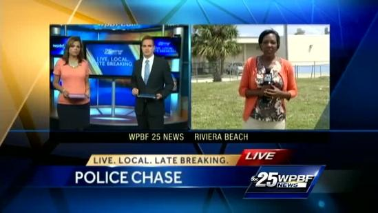 Police chase leads to school lockdown in Riviera Beach