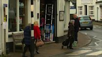 "Welsh town goes ""offshore"" in tax protest"