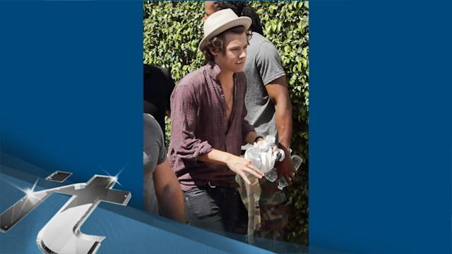 One Direction News Pop: One Direction's Harry Styles Goes Skinny Dipping In Boston Lake!!