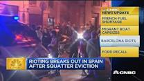 CNBC update: Spanish squatter eviction causes riot